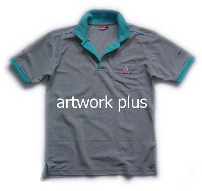 เสื้อโปโล,เสื้อโปโลสีเทาปกฟ้า,เสื้อโปโลบริษัท,เสื้อยืดทำงาน,เสื้อโปโลพนักงาน,เสื้อโปโลผู้ชาย,Polo Shirt,T-Shirt