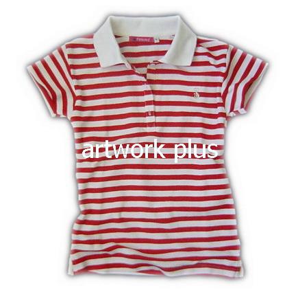 เสื้อโปโล,เสื้อโปโลลายริ้วสีขาวแดง,เสื้อโปโลปักโลโก้,เสื้อโปโลบริษัท,เสื้อยืดทำงาน,เสื้อโปโลพนักงาน,เสื้อโปโลผู้ชาย,Polo Shirt,T-Shirt
