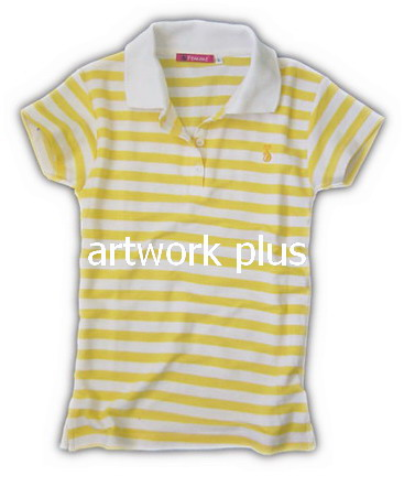 เสื้อโปโล,เสื้อโปโลลายริ้วสีขาวเหลือง,เสื้อโปโลปักโลโก้,เสื้อโปโลบริษัท,เสื้อยืดทำงาน,เสื้อโปโลพนักงาน,เสื้อโปโลผู้ชาย,Polo Shirt,T-Shirt