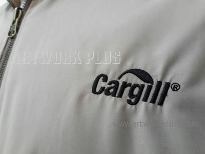 รับปัก,รับปักโลโก้,ปักเสื้อ,ทำอาร์มติดเสื้อ,ปักโลโก้,Logo_CARGILL