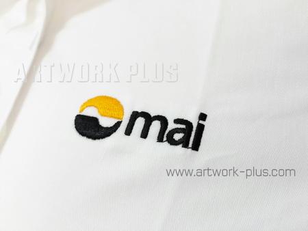 รับปัก,รับปักโลโก้,ปักเสื้อ,ทำอาร์มติดเสื้อ,ปักโลโก้,Logo_MAI
