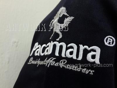 รับปัก,รับปักโลโก้,ปักเสื้อ,ทำอาร์มติดเสื้อ,ปักโลโก้,Logo_PACAMARA