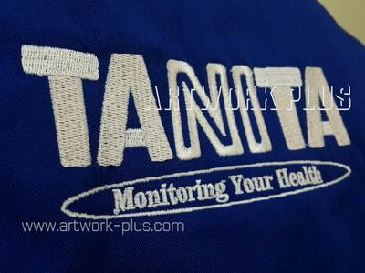 รับปัก,รับปักโลโก้,ปักเสื้อ,ทำอาร์มติดเสื้อ,ปักโลโก้,Logo_TANITA