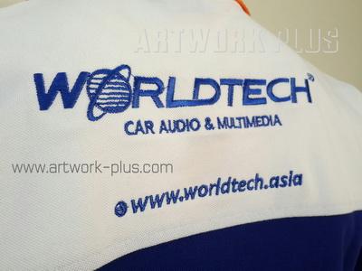 รับปัก,รับปักโลโก้,ปักเสื้อ,ทำอาร์มติดเสื้อ,ปักโลโก้,Logo_WORLDTECH
