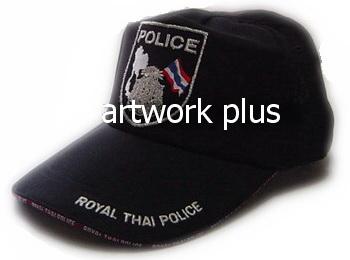 หมวกแก๊ปตำรวจ,หมวกแก๊ปผ้าค็อตต้อนสีดำ,หมวกกอล์ฟ,หมวกปักโลโก้,หมวก cap,cap,หมวกพรีเมี่ยม,หมวกกีฬา,หมวกผ้าฝ้าย