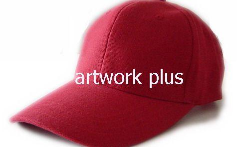 หมวกแก๊ปสีแดง,หมวกกอล์ฟ,หมวกปักโลโก้,หมวก cap,cap,หมวกพรีเมี่ยม,หมวกกีฬา,หมวกผ้าฝ้าย