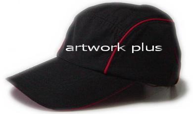 หมวกเบสบอล,หมวกแก๊ปสีดำกุ้นแดง,หมวกกอล์ฟ,หมวกปักโลโก้,หมวก cap,cap,หมวกพรีเมี่ยม,หมวกกีฬา,หมวกผ้าฝ้าย