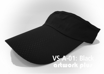 VISOR HAT, VISOR, AIR, Cap, Black