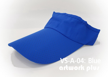 VISOR HAT, VISOR, AIR, Cap, Blue