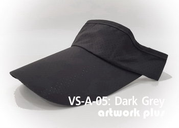 VISOR HAT, VISOR, AIR, Cap, Dark grey