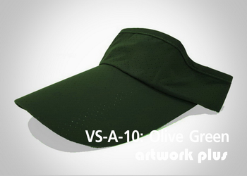 VISOR HAT, VISOR, AIR, Cap, Olive Green