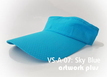 VISOR HAT, VISOR, AIR, Cap, Sky Blue