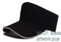 หมวกไวเซอร์ สีดำ, หมวกกันแดด, หมวกเปิดศีรษะ, หมวกกีฬา, Visor Cap, หมวกเปล่า, หมวกกอล์ฟ, หมวกเปิดหัว, หมวกปักโลโก้, หมวกโฆษณา, หมวกสกรีน, หมวกส่งเสริมการขาย, หมวกราคาส่ง, หมวกกีฬาสี, หมวกผ้าฝ้าย