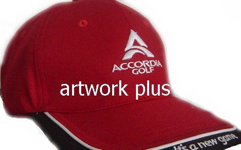 Goft Cap,หมวกแก๊ปสีแดง,หมวกกอล์ฟ,หมวกปักโลโก้,หมวก cap,cap,หมวกพรีเมี่ยม,หมวกกีฬา,หมวกผ้าฝ้าย