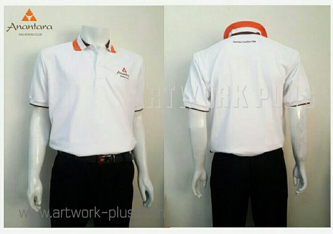เสื้อพนักงานโปโล,รับผลิตเสื้อโปโล,ผู้ผลิตเสื้อโปโล,โรงงานเสื้อ,Polo shirt_Anantara