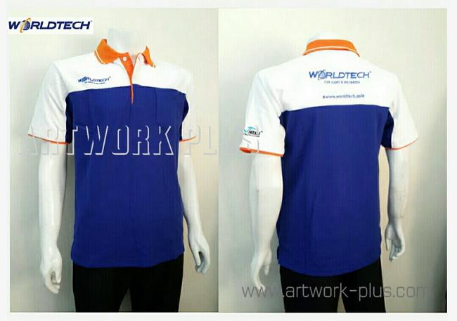 เสื้อพนักงานโปโล,รับผลิตเสื้อโปโล,ผู้ผลิตเสื้อโปโล,โรงงานเสื้อ,Polo shirt_World tech