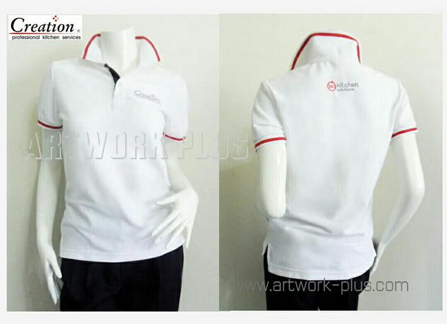 เสื้อโปโล,รับผลิตเสื้อโปโล,ผู้ผลิตเสื้อโปโล,โรงงานเสื้อ,Polo Shirt_Creation บุญถาวร