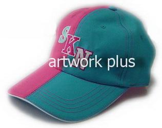 หมวกแก๊ปทีม,หมวกแก๊ปสีชพูฟ้า,หมวกกอล์ฟ,หมวกปักโลโก้,หมวก cap,cap,หมวกพรีเมี่ยม,หมวกกีฬา,หมวกผ้าฝ้าย