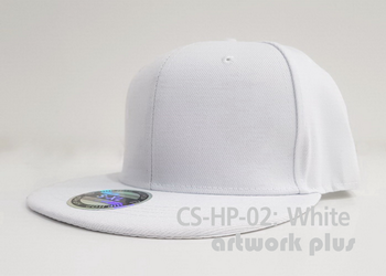 CAP SIMPLE- CS-HP-02, White, Hiphop Hat, Snapback, หมวกฮิปฮอป, หมวกสแนปแบค, หมวกฮิปฮอป พร้อมส่ง, หมวกฮิปฮอป ราคาถูก, หมวก hiphop, หมวกฮิปฮอป สีขาว