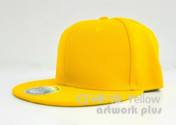 CAP SIMPLE- CS-HP-18, Yellow, Hiphop Hat, Snapback, หมวกฮิปฮอป, หมวกสแนปแบค, หมวกฮิปฮอป พร้อมส่ง, หมวกฮิปฮอป ราคาถูก, หมวก hiphop, หมวกฮิปฮอป สีเหลือง