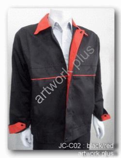 แจ็กเก็ตสีดำตัดต่อสีแดง,เสื้อแจ็กเก็ตสำเร็จรูป,Jacket Casual,แจ๊คเก็ตพร้อมส่ง,แจ๊คเก็ตชาย,แจ๊คเก็ตบริษัท,แจ๊คเก็ตทำงาน,แจ๊คเก็ตยูนิฟอร์ม,แจ๊คเก็ตลำลอง,แจ๊กเก็ตปักโลโ้ก้,แจ๊คเก็ตทีม,แจ๊คเก็ตกันลม,แจ๊คเก็ตกันหนาว,แจ๊คเก็ตราคาส่ง,แบบเสื้อแจ๊คเก็ต