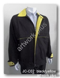 แจ็กเก็ตสีดำตัดต่อสีเหลือง,เสื้อแจ็กเก็ตสำเร็จรูป,Jacket Casual,แจ๊คเก็ตพร้อมส่ง,แจ๊คเก็ตชาย,แจ๊คเก็ตบริษัท,แจ๊คเก็ตทำงาน,แจ๊คเก็ตยูนิฟอร์ม,แจ๊คเก็ตลำลอง,แจ๊กเก็ตปักโลโ้ก้,แจ๊คเก็ตทีม,แจ๊คเก็ตกันลม,แจ๊คเก็ตกันหนาว,แจ๊คเก็ตราคาส่ง,แบบเสื้อแจ๊คเก็ต