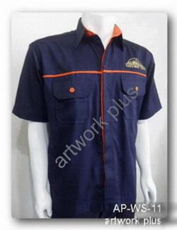 เสื้อช็อปสีกรมท่ากุ้นส้ม,เสื้อพนักงาน_MDX,แบบเสื้อช็อปช่าง,เสื้อพนักงาน,Work Shirt,ชุดยูนิฟอร์ม,รับผลิตเสื้อพนักงานบริษัท,โรงงานผลิตเสื้อทำงาน,ชุดฟอร์มโรงงาน,ชุดช่างโรงงาน,กางเกงทำงาน