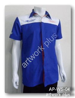 เสื้อช็อปสีน้ำเงินต่อขาว,เสื้อพนักงาน_World Tech,แบบเสื้อช็อปช่าง,เสื้อพนักงาน,Work Shirt,ชุดยูนิฟอร์ม,รับผลิตเสื้อพนักงานบริษัท,โรงงานผลิตเสื้อทำงาน,ชุดฟอร์มโรงงาน,ชุดช่างโรงงาน,กางเกงทำงาน