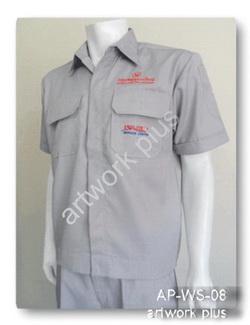 เสื้อช็อปสีเทา,เสื้อพนักงาน_ISUZU,แบบเสื้อช็อปช่าง,เสื้อพนักงาน,Work Shirt,ชุดยูนิฟอร์ม,รับผลิตเสื้อพนักงานบริษัท,โรงงานผลิตเสื้อทำงาน,ชุดฟอร์มโรงงาน,ชุดช่างโรงงาน,กางเกงทำงาน