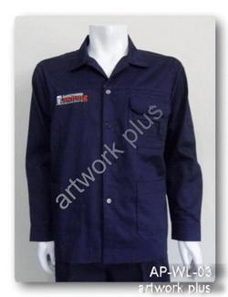 เสื้อช็อปผ้าคอมทวิว,เสื้อพนักงาน_แสงทอง,เสื้อช็อปแขนยาว,เสื้อพนักงานโรงงาน,เสื้อช่างสีกรมท่า,Work Shirt,ชุดยูนิฟอร์ม,รับผลิตเสื้อพนักงานบริษัท,โรงงานผลิตเสื้อทำงาน,ชุดฟอร์มโรงงาน,ชุดช่างโรงงาน,กางเกงทำงาน