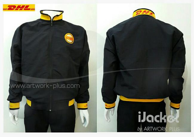 รับผลิตแจ็คเก็ต,เสื้อJacket,Jacket ชาย,แจ็คเก็ตพนักงาน_Jacket DHL