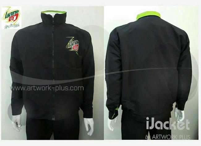 แจ็คเก็ต,เสื้อJacket,Jacket ชาย,แจ็คเก็ตพนักงาน_Jacket_เมาเทนดิว_สีดำ