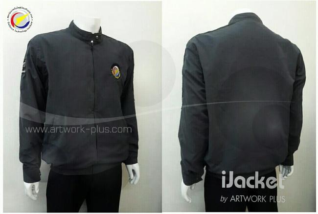โรงงานผลิตแจ็คเก็ต,เสื้อJacket,Jacket ชาย,แจ็คเก็ตพนักงาน,แจ๊คเก็ตสีเทาเข้ม,แจ๊คเก็ต_สถาบันเทคโนโลยีป้องกันประเทศ,Jacket_DTI