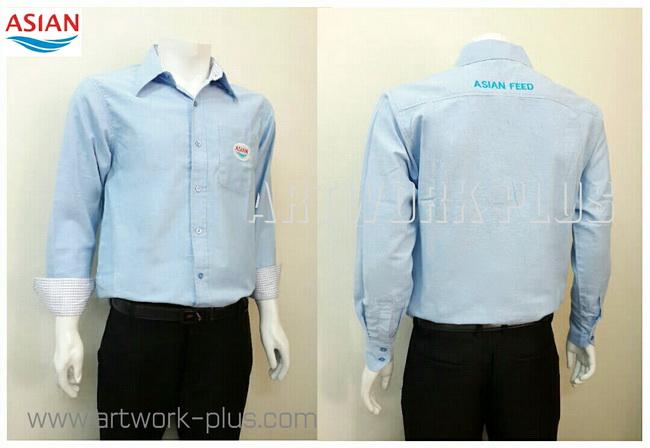 เสื้อเชิ้ตผ้าอ็อกฟอร์ด,ผ้า OXFORD,เสื้อเชิ้ตพนักงาน,เสื้อเชิ้ตแขนยาว,เสื้อเชิ้ตผู้ชาย,เสื้อเชิ้ตสีฟ้า,เสื้อเชิ้ตตลาดหลักทรัพย์_Shirt Asian Feed