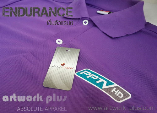 POLO SHIRT,ENDURANCE,PPTV,artwork plus