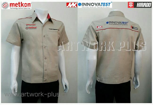 เสื้อบริษัท,เสื้อทำงาน,ชุดทำงานบริษัท,ชุดพนักงาน,ชุดฟอร์ม,ชุดฟอร์มบริษัท,เสื้อพนักงานสีกากี,เสื้อพนักงานช่าง,เสื้อพนักงาน Precision Equipment