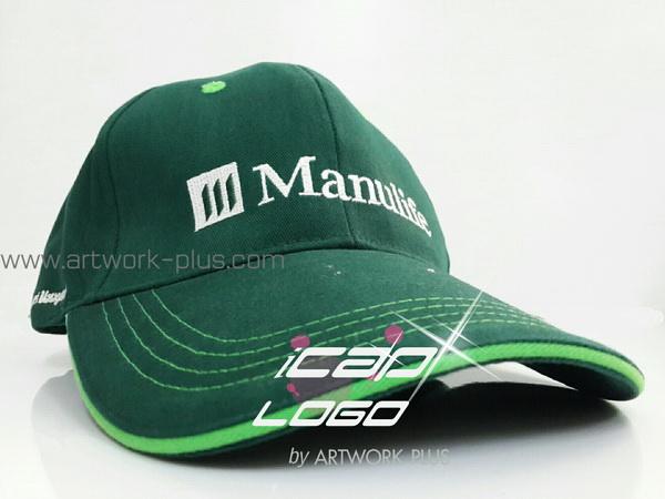 ขายหมวกแก๊ป,รับผลิตหมวกแก๊ป,ผู้ผลิตหมวกแก๊ป,รับทำหมวกแก๊ป,หมวกแก็ป Manulife