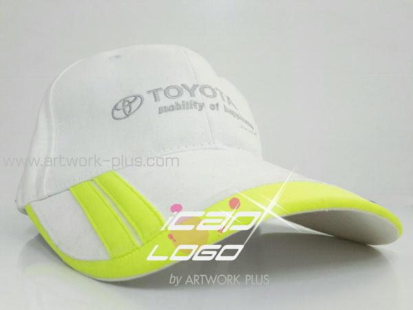 ขายหมวกแก๊ป,รับผลิตหมวกแก๊ป,ผู้ผลิตหมวกแก๊ป,รับทำหมวกแก๊ป,หมวกแก็ป TOYOTA_green