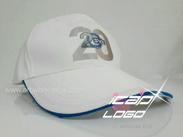 ผู้ผลิตหมวกแก๊ป,หมวกแก๊ป,หมวกกอล์ฟ,หมวกพรีเมี่ยม_หมวกแก๊ปสีขาว_SYS