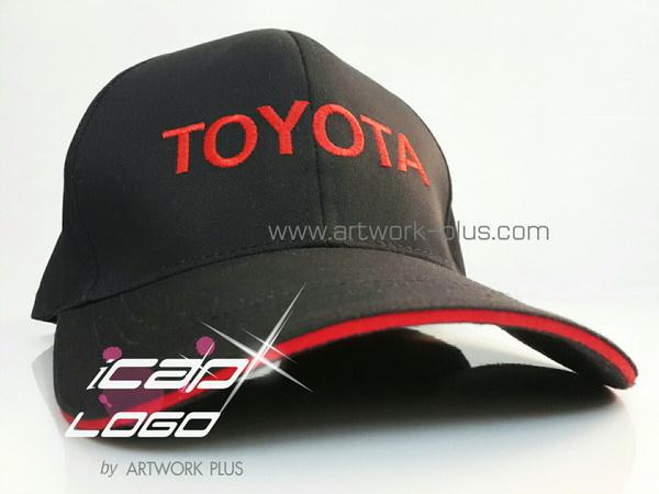 รับผลิตหมวกแก็ป,ผู้ผลิตหมวกแก็ป,รับทำหมวกแก็ป,หมวก TOYOTA