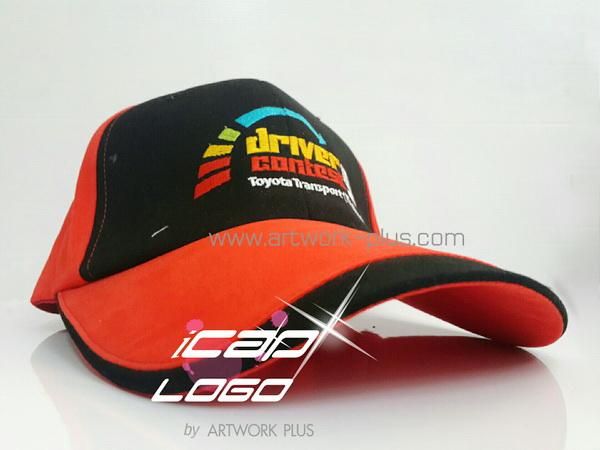 รับผลิตหมวก,หมวกกีฬา,หมวกปักโลโก้,หมวก Cap_TOYOTA sport