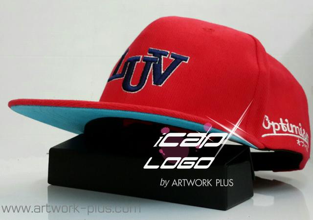 หมวกฮิปฮอป,ขายหมวกฮิปฮอป,รับผลิตหมวกฮิปฮอป,ผู้ผลิตหมวกฮิปฮอป,หมวกฮิปฮอปสวย,หมวก HIPHOP_ LUV_red