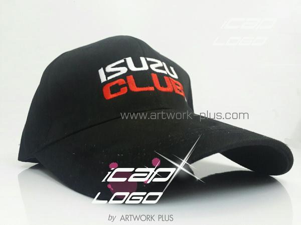 โรงงานหมวก Cap,หมวกแก็ป,หมวกกอล์ฟ,Cap_ISUZU_cap