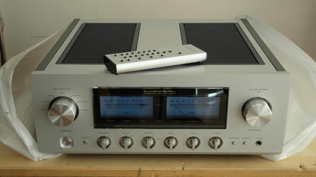 Luxman L-507uX Int + Boxed ราคา 96,000.- สอบถามเพิ่มเติมได้ครับ โทร. 084 560 3199