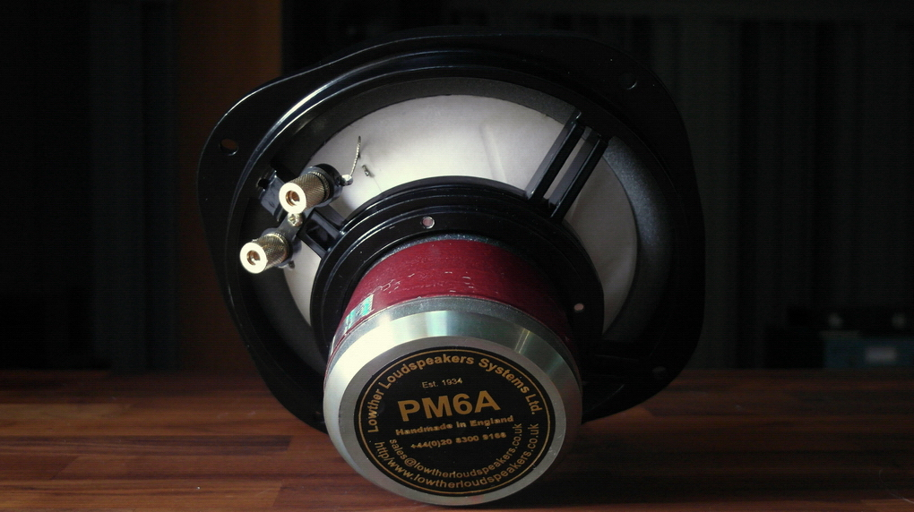 Lowther Loudspeaker Driver Unit PM6A