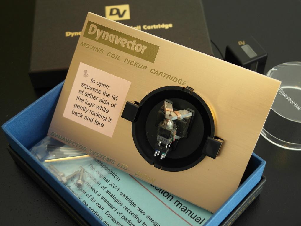 Dynavector DRT XV-1s #518 ALNICO magnet MC Phono cartridge + ไฟน์จูน สอบถามได้ครับ โทร. 084 560 3199
