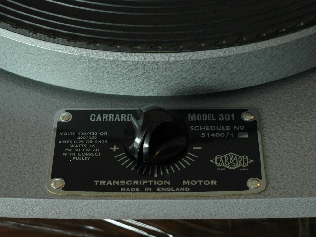 Garrard 301 #708 Hammertone + Grease Bearing + Setup ไฟน์จูน สอบถามเพิ่มเติม โทร. 084 560 3199