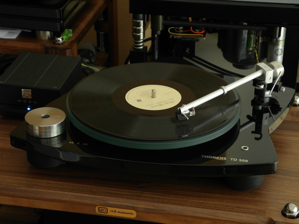 THORENS TD 309 + Goldring Elite MC Phono Cartridge + Setup ไฟน์จูน โทร. 084 560 3199