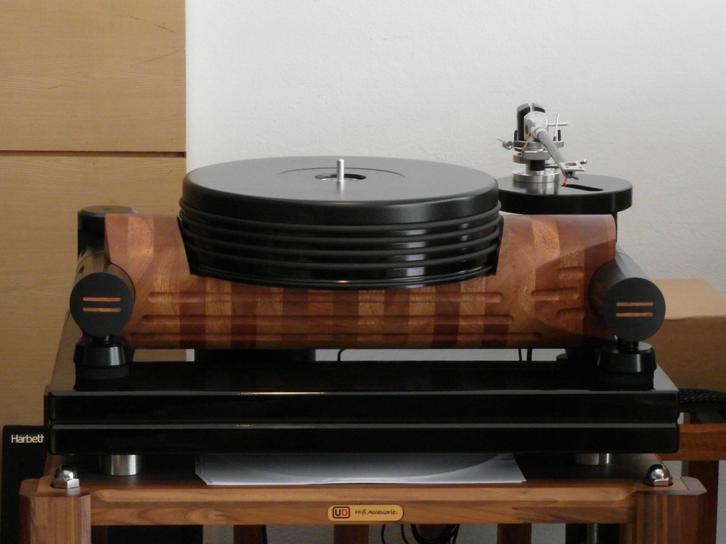 "Nottingham Analogue Studio Anna Log #154 + Wave Mechanic PSU + 12"" ACE Anna Tonearm  Setup + ไฟน์จูน สอบถามได้ครับ 084 560 3199"