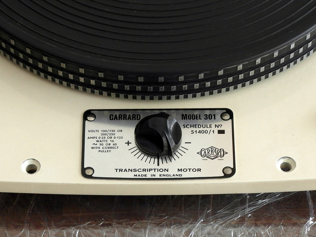 For Sale Original 50Hz Garrard 301 Grease Bearing Ivory #216 ราคา 90,000.- สอบถามได้ครับ โทร.084 560 3199 Line: audiodirect